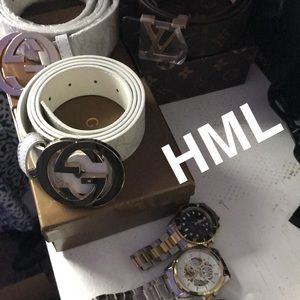 Other - Gucci and Louis V belts